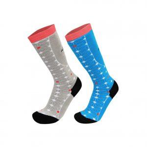 calcetines de ski cerise